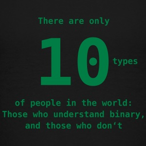 10 types of people T-Shirts - Teenager Premium T-Shirt