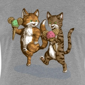 Mice Cream Kittens - Women's Premium T-Shirt