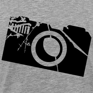 Camera Logo T-Shirts - Men's Premium T-Shirt