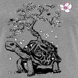Turtle with a bonsai on the carapace T-Shirts - Women's Premium T-Shirt