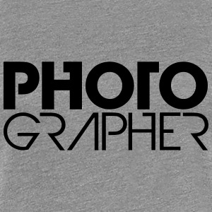 Photographer Cool Logo Design T-Shirts - Women's Premium T-Shirt