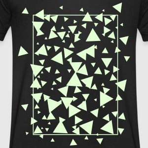 triangles T-Shirts - Men's V-Neck T-Shirt
