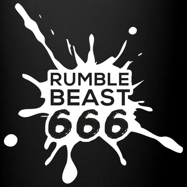 RumbleBeast66 - Doppellogo-Becher
