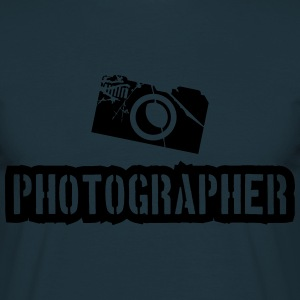 Photographer Camera Stamp T-Shirts - Men's T-Shirt