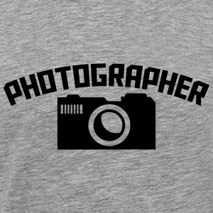 Photographer Camera Logo Design T-Shirts - Men's Premium T-Shirt