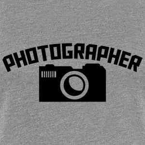 Photographer Camera Logo Design T-Shirts - Women's Premium T-Shirt