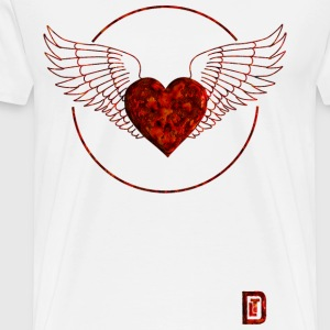 Red Heart - Männer Premium T-Shirt