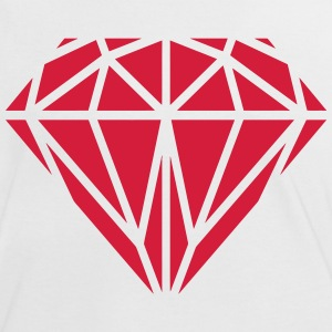 Diamant T-Shirts - Frauen Kontrast-T-Shirt