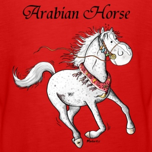 Cute Arabian Horse - Horses Long Sleeve Shirts - Teenagers' Premium Longsleeve Shirt