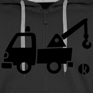 Tow (1 c) Hoodies & Sweatshirts - Men's Premium Hooded Jacket