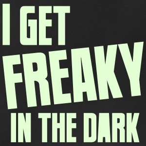I get FREAKY in the dark Halloween funny Sports wear - Men's Breathable Tank Top
