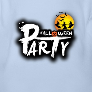 halloween party Shirts - Organic Short-sleeved Baby Bodysuit