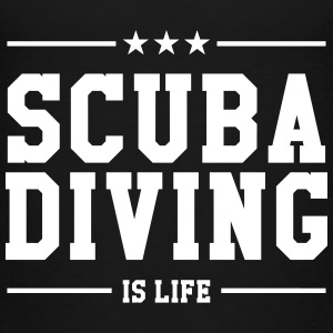 Scuba Diving T-shirts - Børne premium T-shirt