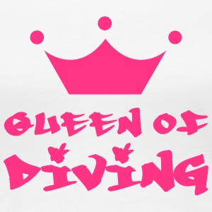 Queen of Diving Camisetas - Camiseta premium mujer