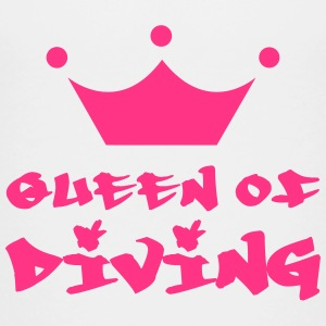 Queen of Diving T-Shirts - Kinder Premium T-Shirt