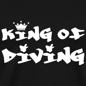 King of Diving Koszulki - Koszulka męska Premium