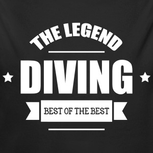 Diving The Legend Hoodies - Longlseeve Baby Bodysuit