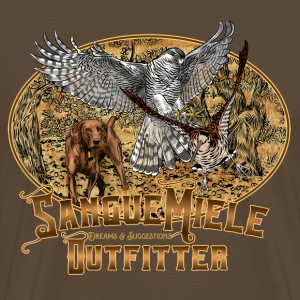 hunting hawk.png T-Shirts - Men's Premium T-Shirt