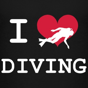 I Love Diving Shirts - Kinderen Premium T-shirt