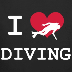 I Love Diving Pullover & Hoodies - Baby Bio-Langarm-Body