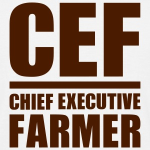 Chief Executive Farmer T-Shirts - Männer T-Shirt