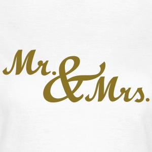 Mr & Mrs T-Shirts - Frauen T-Shirt