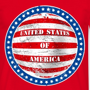 united states 002 T-Shirts - Men's T-Shirt