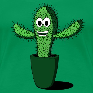 HAPPY CACTI T-Shirts - Women's Premium T-Shirt