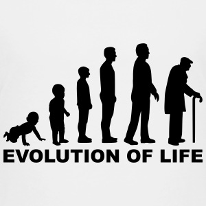 Evolution of Life T-Shirts - Kinder Premium T-Shirt