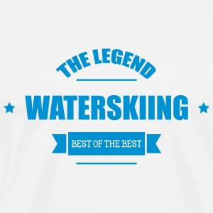 Waterskiing  T-Shirts - Men's Premium T-Shirt