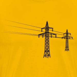 Overland power pole black T-Shirts - Men's Premium T-Shirt