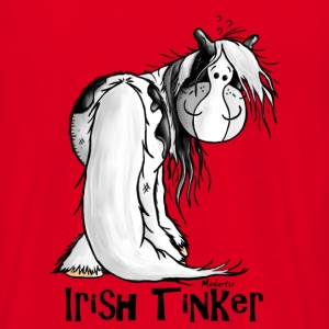Cute Irish Tinker Horse - Pinto T-Shirts - Men's T-Shirt
