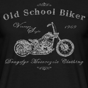 Biker T-Shirt | Old School Biker - Männer T-Shirt