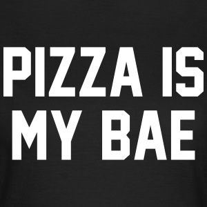 Pizza is my bae T-shirts - Dame-T-shirt