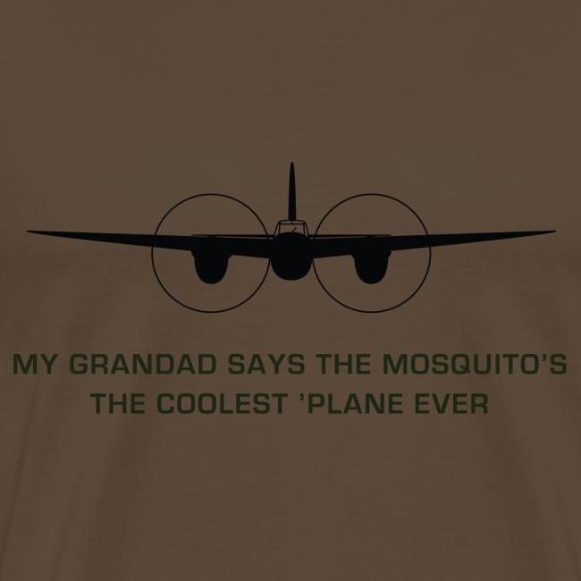 """Adult """"Grandad"""" T-Shirt - Brown"""