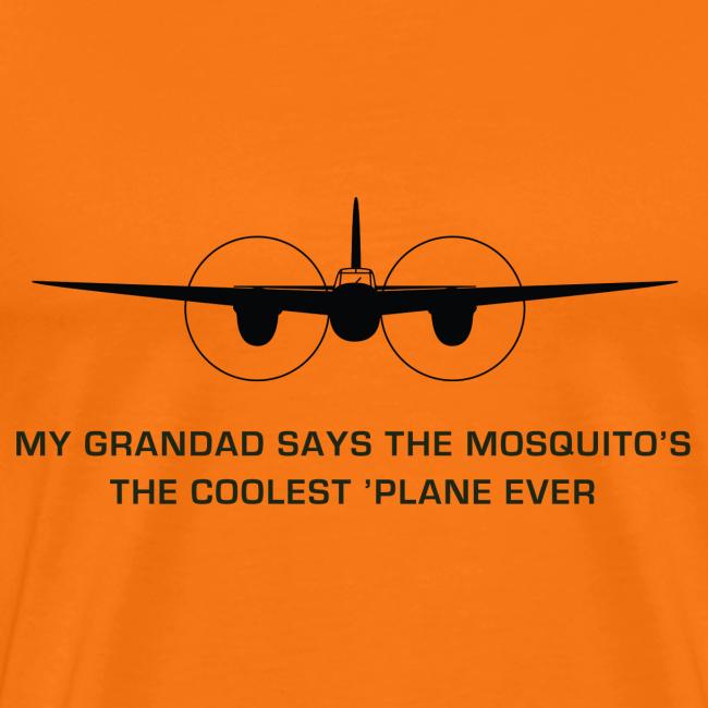 "Adult ""Grandad"" T-Shirt - Orange"