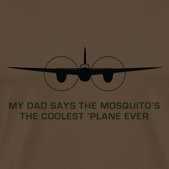 "Adult ""Dad"" T-Shirt - Brown"