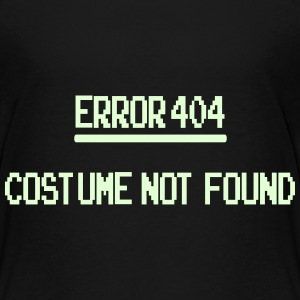 Error 404 Costume Not Found patjila_2014 Shirts - Kinderen Premium T-shirt