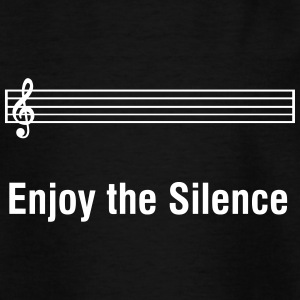 Enjoy The Silence - humor divertido del músico Camisetas - Camiseta niño