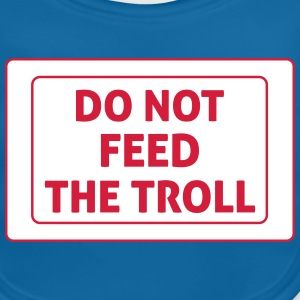 Do Not Feed The Troll Accessoires - Bio-slabbetje voor baby's