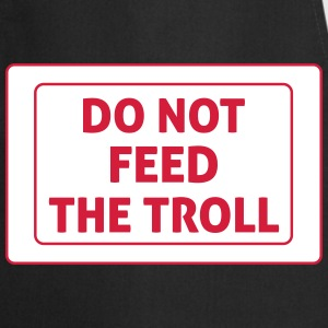 Do Not Feed The Troll Delantales - Delantal de cocina