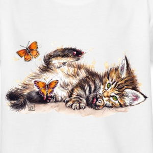 SM Katze | cat T-Shirts - Kinder T-Shirt