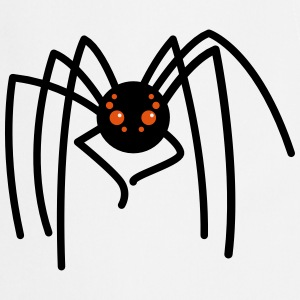oooh creepy cute spider with long legs  Aprons - Cooking Apron
