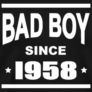 Bad boy since 1958 Tee shirts - T-shirt Premium Homme