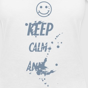 Keep Calm And ... T-shirts - Vrouwen T-shirt met V-hals