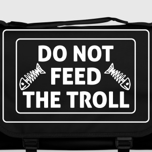 Do Not Feed The Troll Tassen & rugzakken - Schoudertas