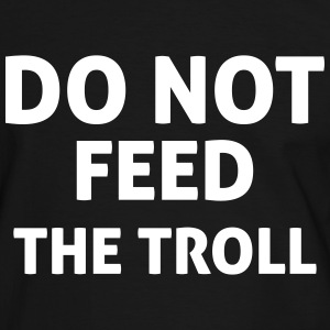 Do Not Feed The Troll T-Shirts - Men's Ringer Shirt