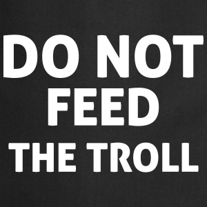 Do Not Feed The Troll Tabliers - Tablier de cuisine
