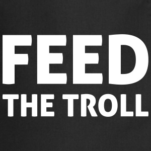 Feed The Troll Delantales - Delantal de cocina