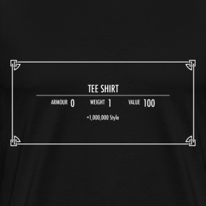 Skyrim Item - Men's Premium T-Shirt